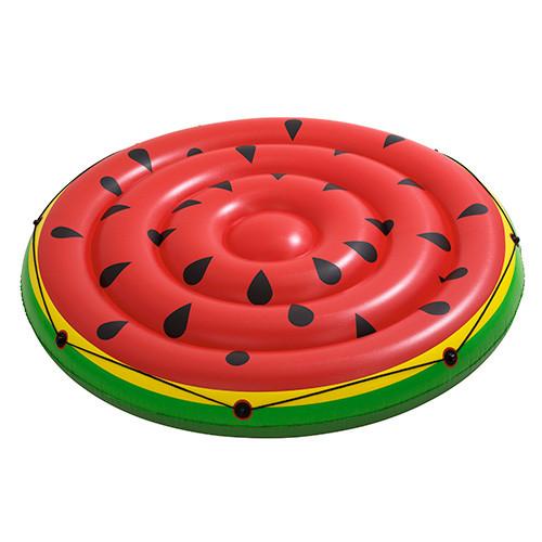Плотик BestWay Кавун 43140 діаметр 188 см надувний пліт для відпочинку на воді