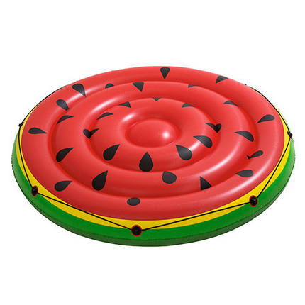 Плотик BestWay Кавун 43140 діаметр 188 см надувний пліт для відпочинку на воді, фото 2