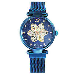 Часы женские наручные Forsining 1171 All Blue ( ABR-1059-0025)