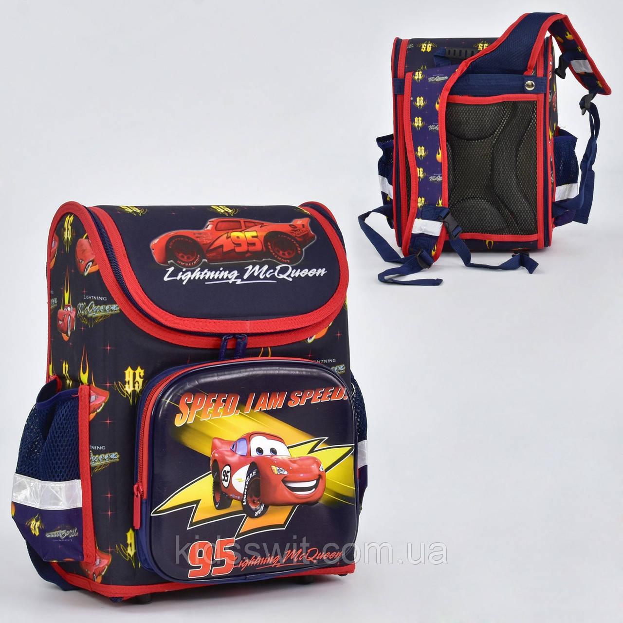 Рюкзак школьный каркасный 1 отделение, 3 кармана, спинка ортопедическая N 00196