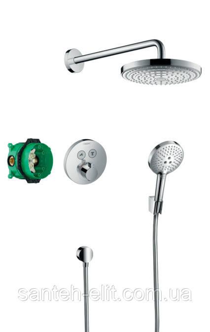 SHOWERSET Raindance Select S/ShowerSelect S душевой набор: верхний, ручной душ, ibox, термостат