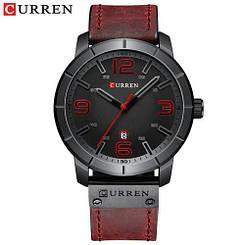 Часы мужские наручные Curren 8327 Red-Black ( ABR-1008-0193)