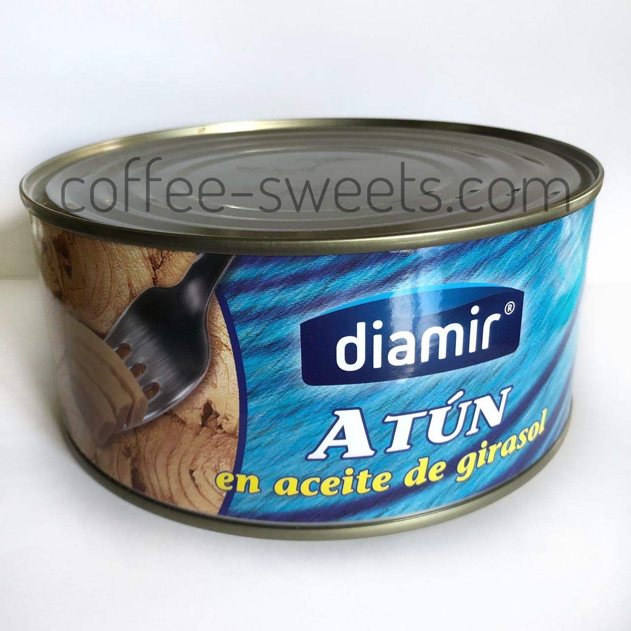 Тунец Diamir Atun en aceite de girasol в подсолнечном масле 900g