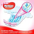 Підгузки Huggies Ultra Comfort для дівчаток 3 (5-9кг), 56шт, фото 7