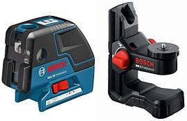 Комби-лазер (линейный + точечный) Bosch GCL 25 + BM1 (0601066B03)