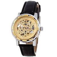 Годинники чоловічі наручні Winner 8012С Black-Silver-Gold ABR-1099-0008