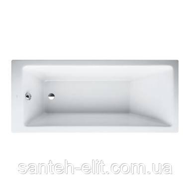 PRO ванна 1600*700*460мм, встроенная, без рамы, без панели, с алюмин. профилем для ножек, белая