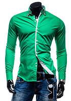 Рубашка мужская Флорида Зеленая