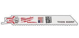Полотно для сабельной пилы Milwaukee Sawzall по металлу L=150 5шт (48005184)