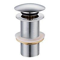 Донний клапан Volle click-clack хромований, латунь (90-00-043)