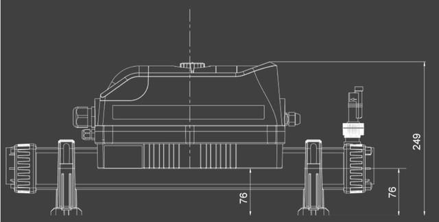 Габаритные размеры проточных нагревателей Elecro Evolution 2