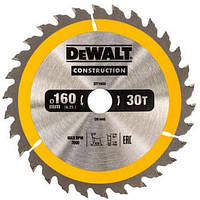 Диск пильный DeWALT 160х20мм 30 зубов (DT1932)