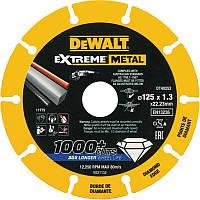 Диск алмазный DeWALT 125х1.3х22.23мм пометаллу (DT40252)