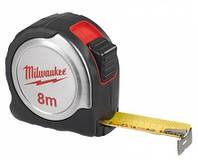 Рулетка общестроительная Milwaukee 8м (25мм) (4932451640)