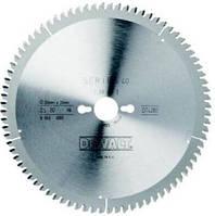 Диск пильный DeWALT 165х20мм 40 зубов (чистый рез для DWE550) (DT10301)