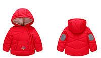 Куртка детская демисезонная Chicky красная