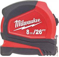 Рулетка Milwaukee Professional 8/26''м, 25 мм, (4932459596)