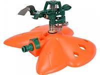 Ороситель Flo 89271 усадебный наземный импульсный к шлангам 1/2 1 струйных диапазон 24 м