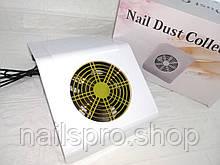 Витяжка настільна для манікюру Nail Dust BQ-858-2A 40 Вт 18*27*11 см , колір білий