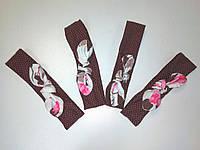 Красивые повязки на девочку от года-до 2 лет