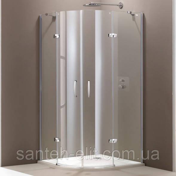 Huppe AURA кабина 90х90см (профиль глянц хром, стекло прозр) 400801092321