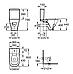 GAP компакт в комплекте: унитаз, бачок 3/4,5, сиденье с системой плавного опускания, фото 2