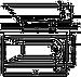 Ванна Kolo MIRRA 170*80см прямоугольная, с ножками SN0 и подголовником (XWP3370001), фото 2