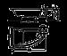 Ванна Kolo MIRRA 170*110см асимметричная правая, с ножками SN8,и подголовником (XWA3370001), фото 2