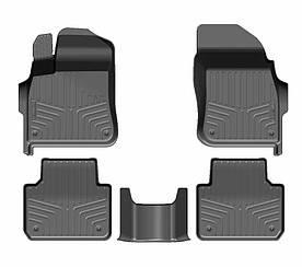 Коврики резиновые салон для Volkswagen Touareg III (2018-) 3D LUX 3D LUX