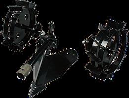 Плуг и металлические колеса Konner&Sohnen KS 7HP-MFM-PMW