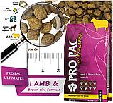 Сухий корм для собак Pro Pac DOG Lamb & Brown Rice Formula 2.5 кг, фото 2