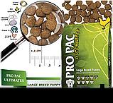 Сухий корм для цуценят великих порід Pro Pac DOG Large Breed Puppy Chicken & Brown Rice Formula 20 кг, фото 2