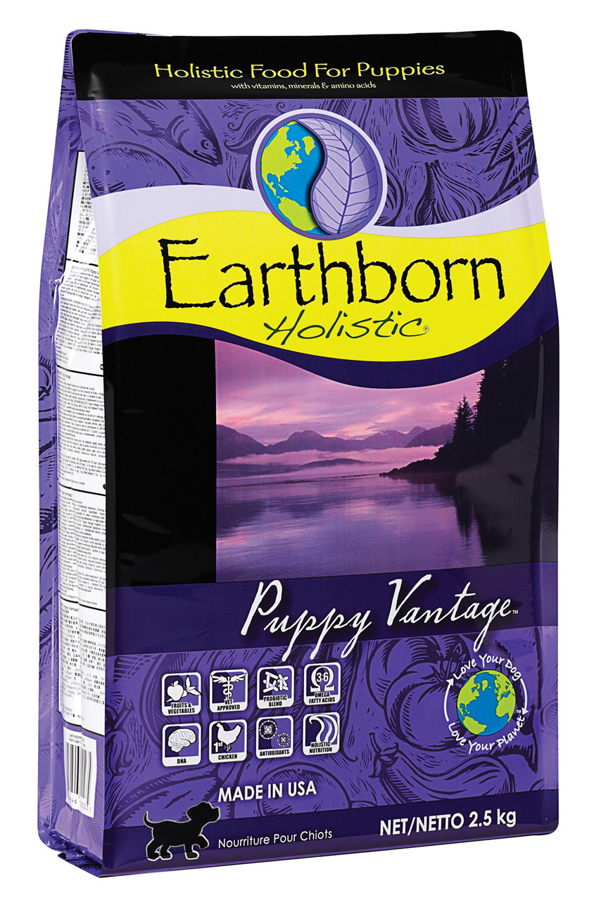 Сухой корм для щенков Earthborn Holistic Puppy Vantage 2,5 кг