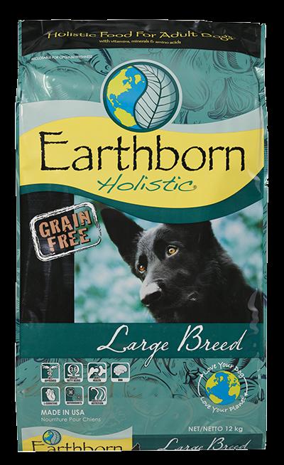 Сухой корм Earthborn Holistic Large Breed для собак крупных пород 12 кг