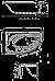 Ванна Kolo PROMISE 170*110 см асимметричная, правая, c ножками SN8 (XWA3270000), фото 2