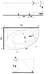 Ванна Kolo PROMISE 170*110см асимметричная, левая, с ножками SN8 (XWA3271000), фото 2