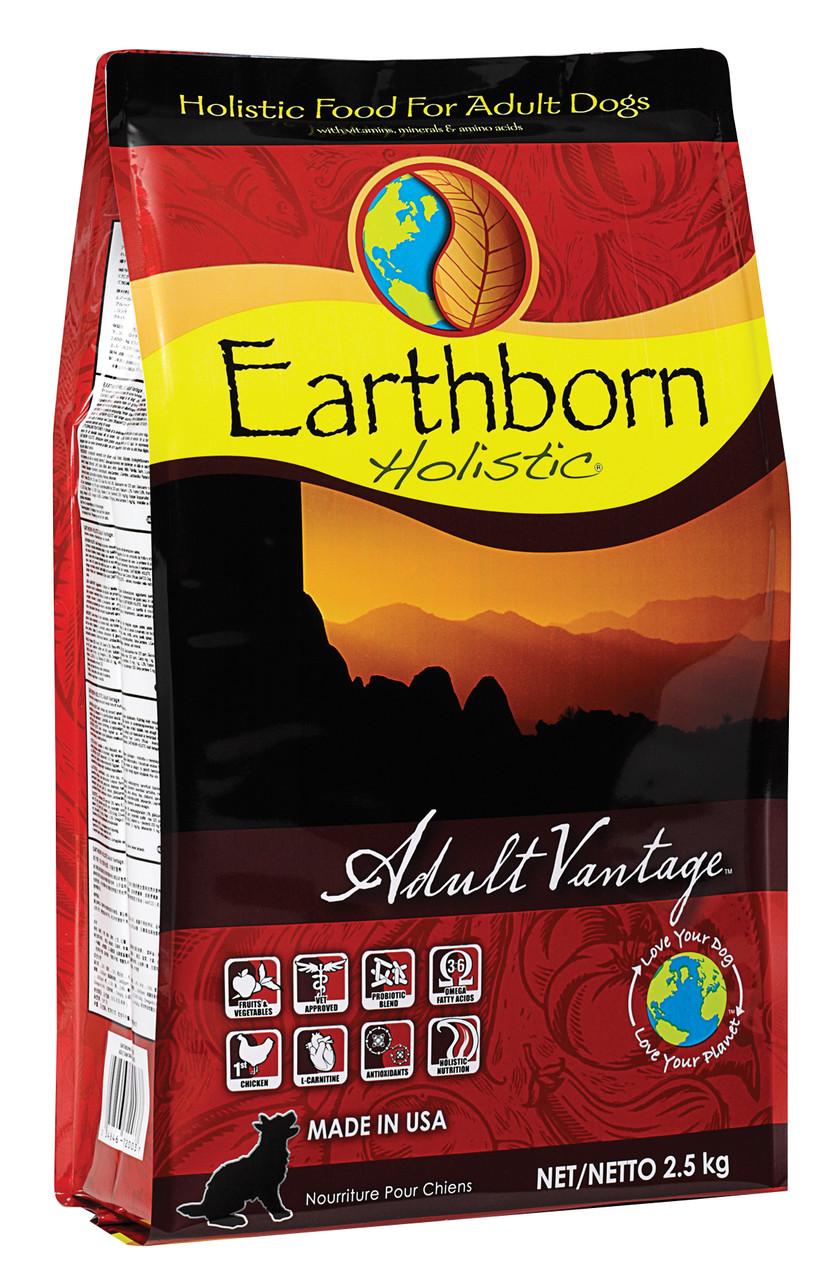 Сухой корм для собак Earthborn Holistic Adult Vantage 2,5 кг