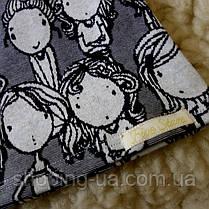 Детская футболка девочки джерси Five Stars KD0319-134p, фото 3