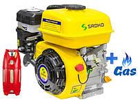 Бензо-газовый двигатель Sadko GE-200 PRO LPG