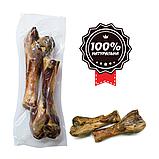 Ласощі для собак ALPHA SPIRIT м'ясна кістка Дві половинки, фото 2