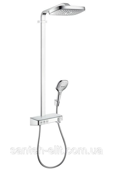 RAINDANCE Select E Air 3jet 300 Showerpipe душевая система с термостатом ShowerTablet