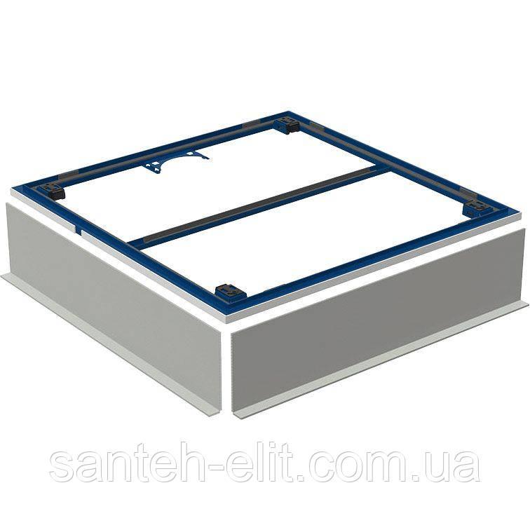 Geberit Монтажная рама для поверхности для душевой зоны Setaplano до 100 см, для 4х ножек 100*100 см