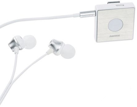Навушники Remax Sport Clip-On Bluetooth Headset (RB-S3) white