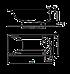 Ванна Kolo MIRRA 160*75см прямоугольная, с ножками SN0 (XWP3360000), фото 2