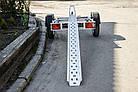 Прицеп для перевозки мотоцикла A0-1511 SKIF MOTO-1, рессора, фото 2