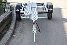Прицеп для перевозки мотоцикла A0-1511 SKIF MOTO-1, рессора, фото 4