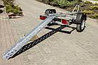 Прицеп для перевозки мотоцикла A0-1511 SKIF MOTO-1, рессора, фото 3