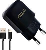 Зарядний пристрій Asus 2A black+micro cable