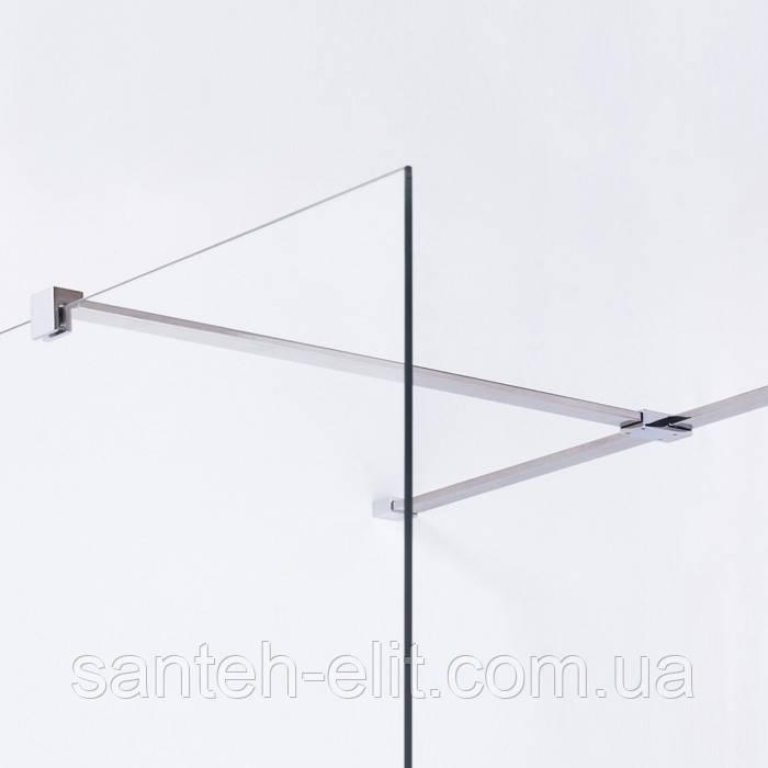 Держатель стекла (F) с креплениями, 800мм