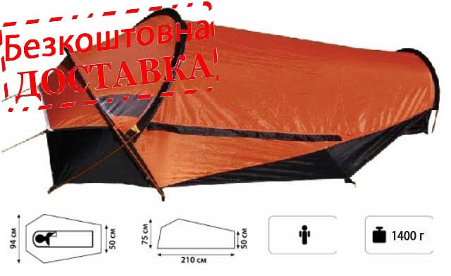 Палатка туристическа одноместная Tramp RIDER (TRT-048.02)